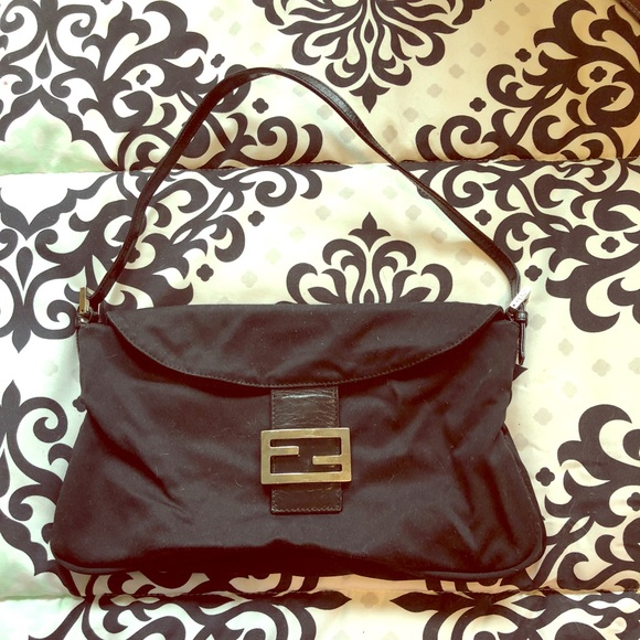 Fendi Handbags - Black fendi nylon bag